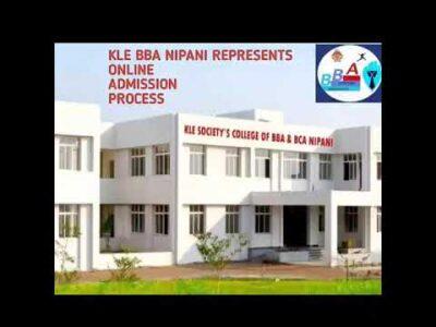 Online Admission Process of KLE BBA COLLEGE NIPANI ( klebbanipani.com)